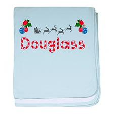 Douglass, Christmas baby blanket