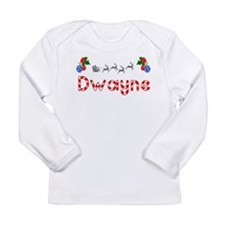 Dwayne, Christmas Long Sleeve Infant T-Shirt