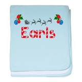Earls, Christmas baby blanket