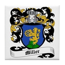 Miller Coat of Arms Tile Coaster