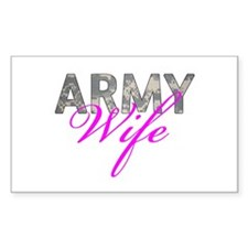 ACU Army Wife Decal