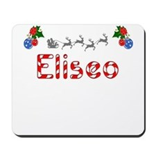 Eliseo, Christmas Mousepad