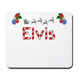 Elvis, Christmas Mousepad