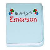 Emerson, Christmas baby blanket