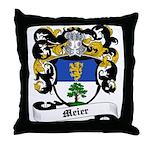 Meier Coat of Arms Throw Pillow