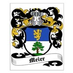 Meier Coat of Arms Small Poster