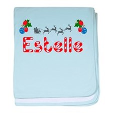 Estelle, Christmas baby blanket