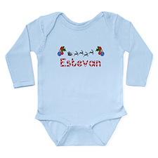 Estevan, Christmas Long Sleeve Infant Bodysuit