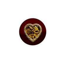 Clockwork Heart Mini Button (10 pack)