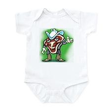 Funny Steaks Infant Bodysuit