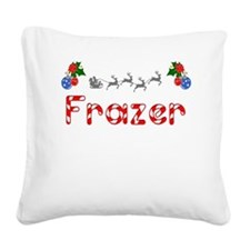 Frazer, Christmas Square Canvas Pillow