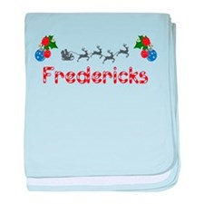 Fredericks, Christmas baby blanket