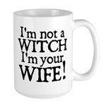 Witch Wife Princess Bride Large Mug