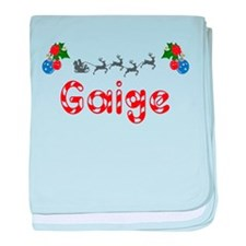Gaige, Christmas baby blanket