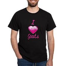 I Love/Heart Goats T-Shirt