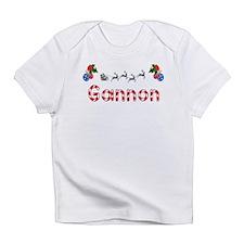 Gannon, Christmas Infant T-Shirt