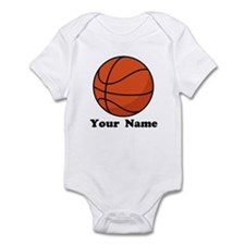 Personalized Basketball Infant Bodysuit