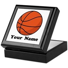 Personalized Basketball Keepsake Box