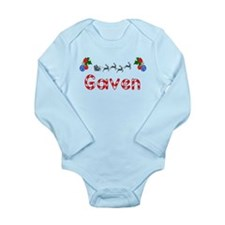 Gaven, Christmas Long Sleeve Infant Bodysuit