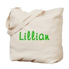 Lillian Glitter Gel Tote Bag
