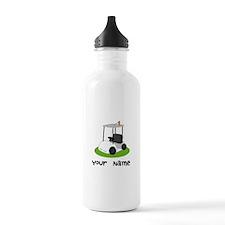 Golf Cart Gift For Golfer Water Bottle