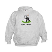 Golf Cart Gift For Golfer Hoodie