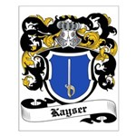 Kayser Coat of Arms Small Poster