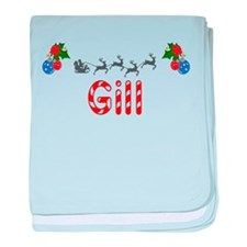 Gill, Christmas baby blanket