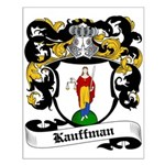 Kauffman Coat of Arms Small Poster