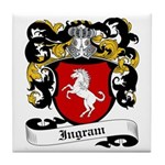 Ingram Coat of Arms Tile Coaster