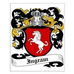 Ingram Coat of Arms Small Poster