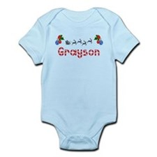 Grayson, Christmas Infant Bodysuit