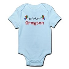 Grayson, Christmas Onesie