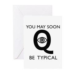 Quantum Eye Greeting Cards (Pk of 20)