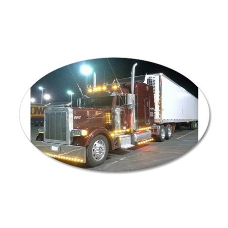AFTM Laras Truck (Special) 35x21 Oval Wall Decal