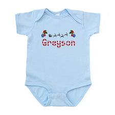 Greyson, Christmas Infant Bodysuit