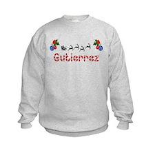 Gutierrez, Christmas Sweatshirt