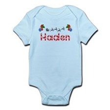 Haden, Christmas Infant Bodysuit