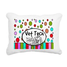 Vet Tech Tote 2.PNG Rectangular Canvas Pillow