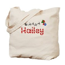 Hailey, Christmas Tote Bag