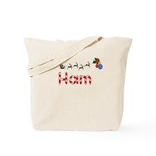 Ham, Christmas Tote Bag