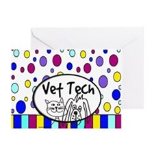 Vet Tech Tote 1.PNG Greeting Cards (Pk of 10)