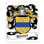 Hörner Coat of Arms Small Poster