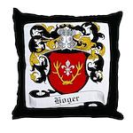 Hoger Coat of Arms Throw Pillow