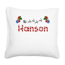 Hanson, Christmas Square Canvas Pillow