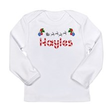 Hayles, Christmas Long Sleeve Infant T-Shirt