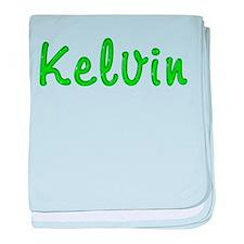 Kelvin Glitter Gel baby blanket