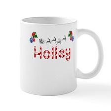 Holley, Christmas Small Mug