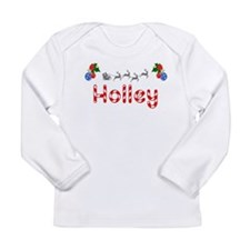 Holley, Christmas Long Sleeve Infant T-Shirt