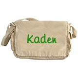 Kaden Glitter Gel Messenger Bag